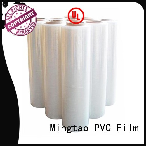 Mingtao plastic stretch film handle free sample for table cover
