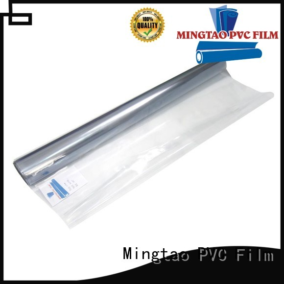 Mingtao waterproof translucent pvc sheet for wholesale for book covers