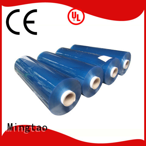 Mingtao soft flexible clear plastic sheet for wholesale for book covers