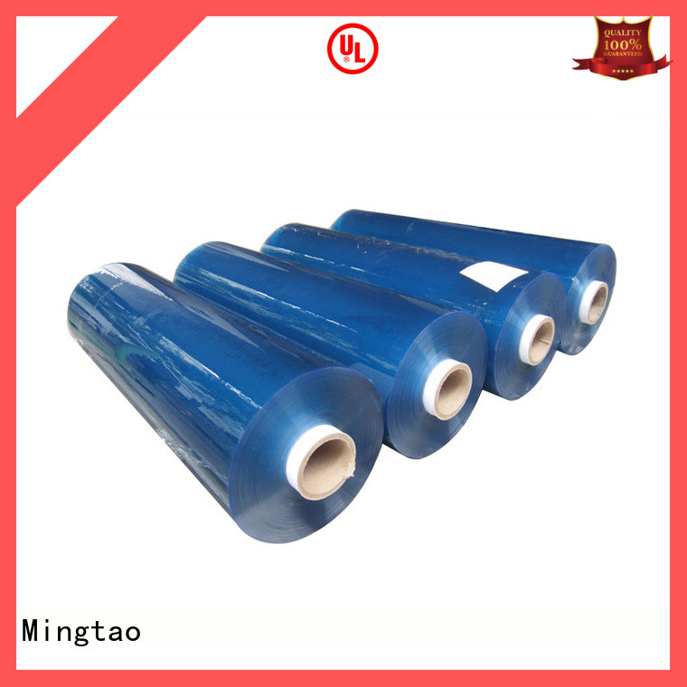 transparent clear pvc sheet transparent for table mat Mingtao