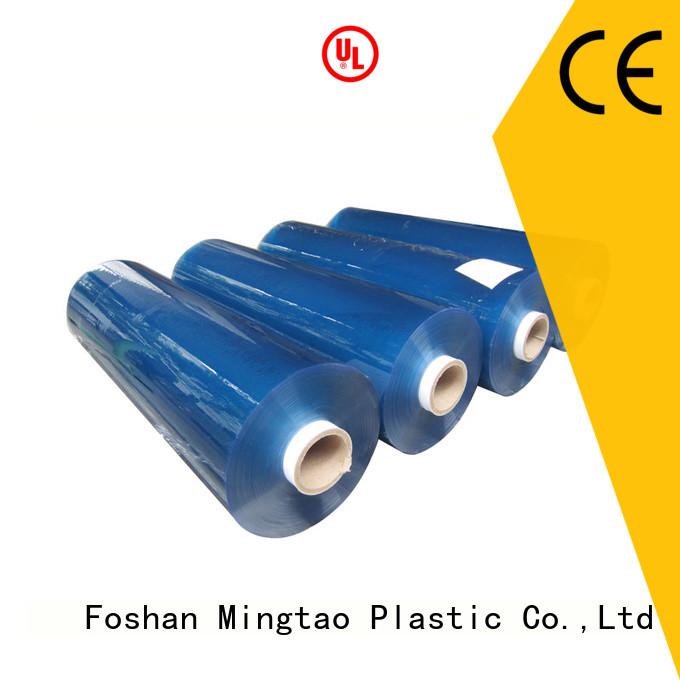 Mingtao super clear pvc super clear film* for wholesale for television cove
