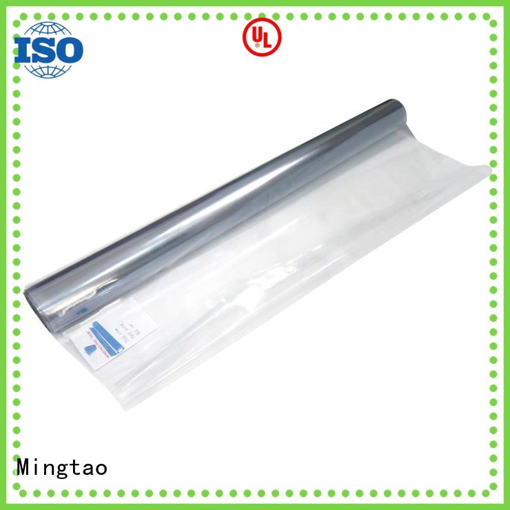 Mingtao Breathable black pvc sheet for wholesale for packing