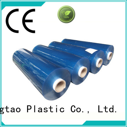 Mingtao funky blue pvc sheet for wholesale for packing