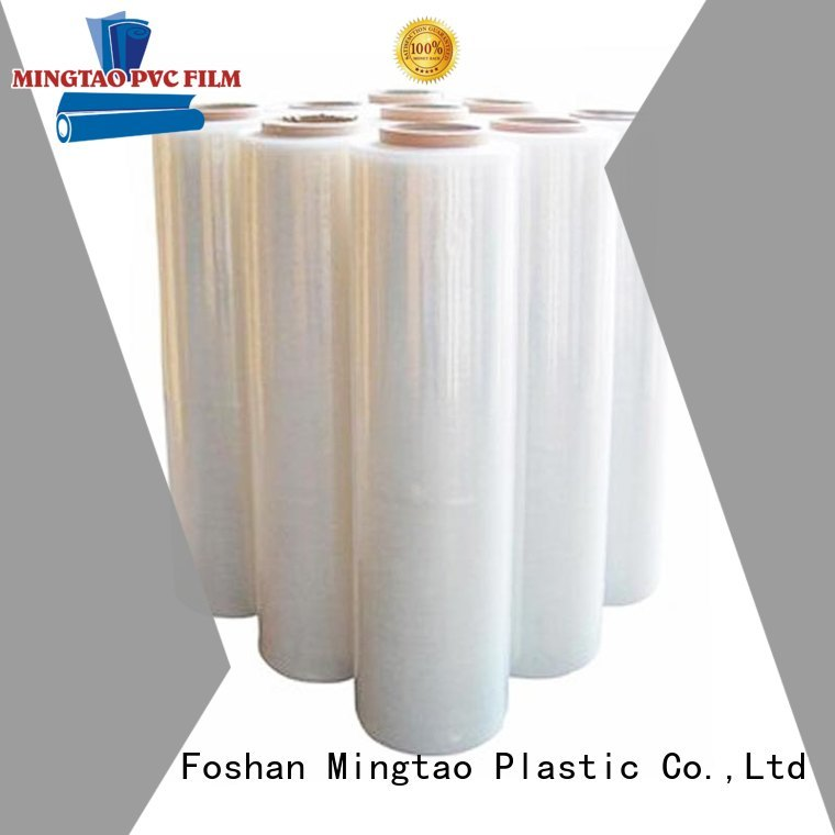 Mingtao Breathable pe shrink film free sample for table cover
