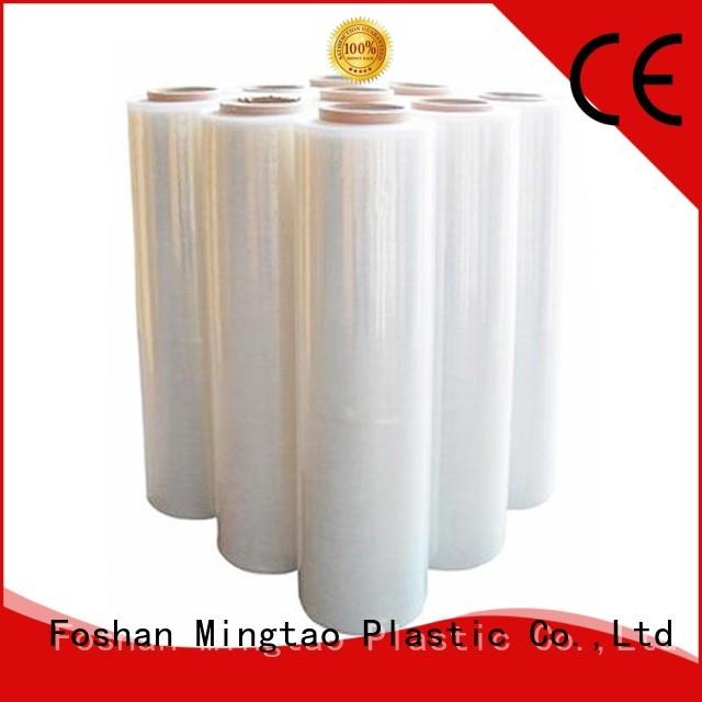 Mingtao film pre-stretch film buy now for television cove