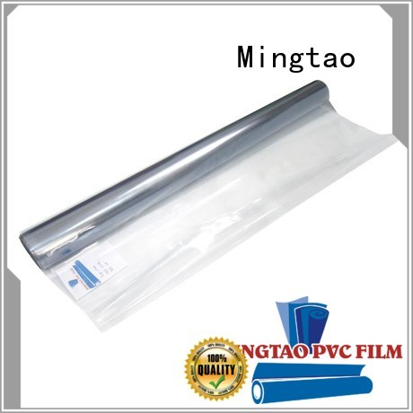 Mingtao smooth surface pvc film suppliers bulk production for packing