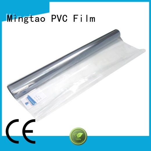 Mingtao High quality PVC soft pvc film supplier for packing