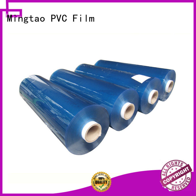 Mingtao portable pvc film customization for packing