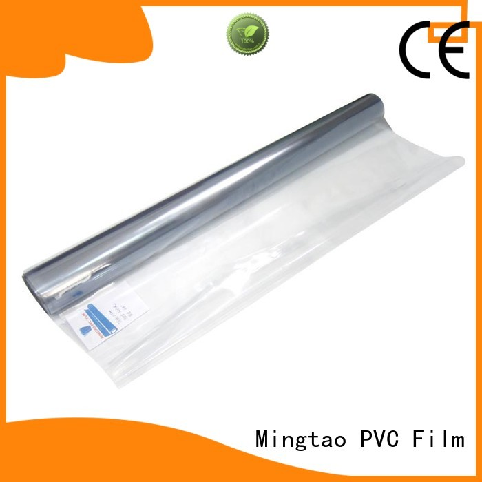 Mingtao high-quality soft pvc film for wholesale for television cove