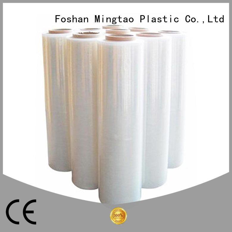 Mingtao high-quality transparent stretch film OEM for table cover
