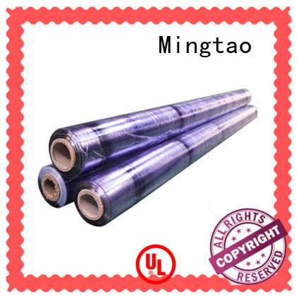 Mingtao solid mesh packing film blue for table mat
