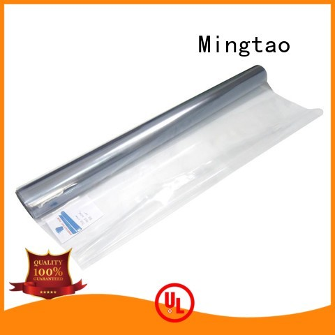 Mingtao High quality PVC polyethylene film for wholesale for book covers