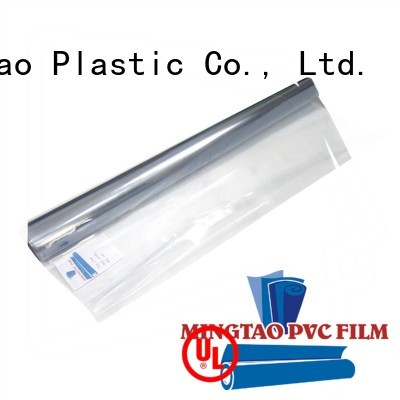 durable transparent plastic sheet roll smooth surface OEM for television cove
