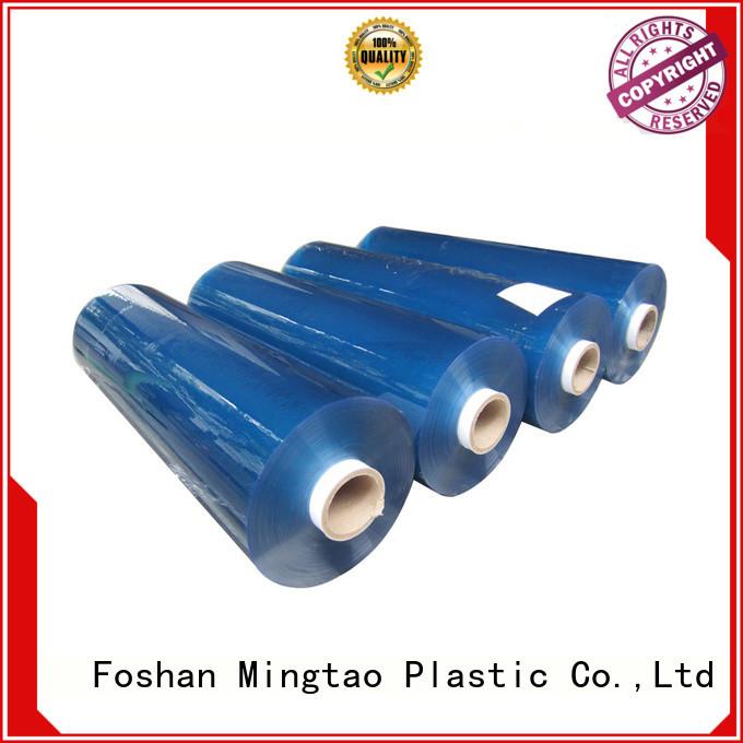 Mingtao blue plastic film for wholesale for table mat