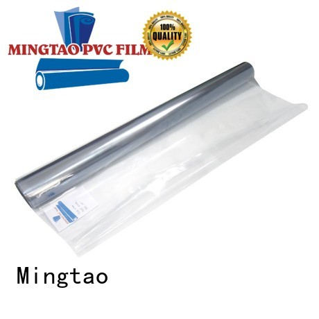 Mingtao High transparency pvc normal clear sheet OEM for table mat