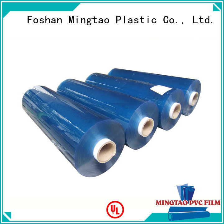 quality roll laminating film blue for television cove Mingtao