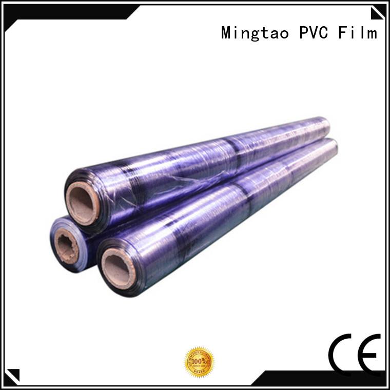 Mingtao transparent mattress packing film bulk production for book covers