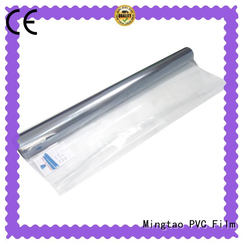 Mingtao on-sale pvc flexible sheet non-sticky for table cover