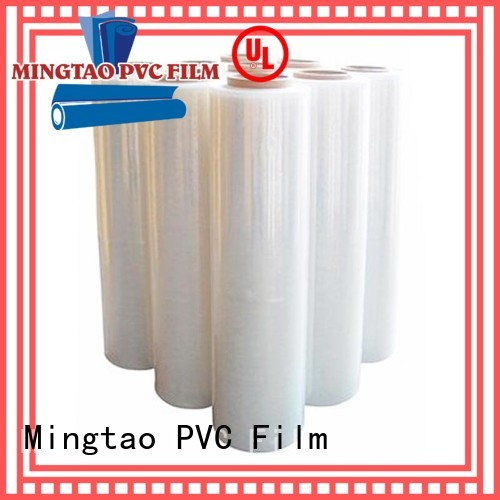 Mingtao plastic machine stretch wrap customization for television cove