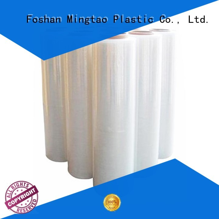 Mingtao pallet pe stretch film supplier for table cover