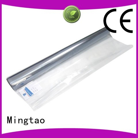 Mingtao smooth surface pvc super clear film customization for television cove