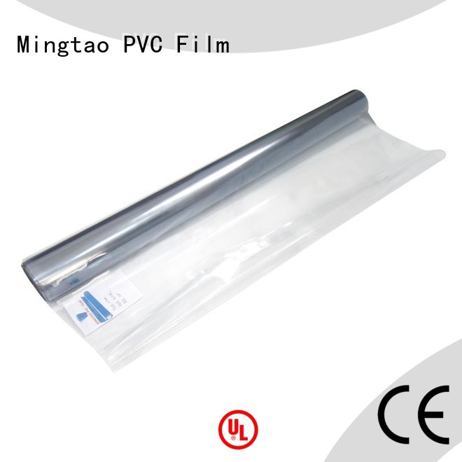 Mingtao non-sticky super clear pvc film customization for table cover