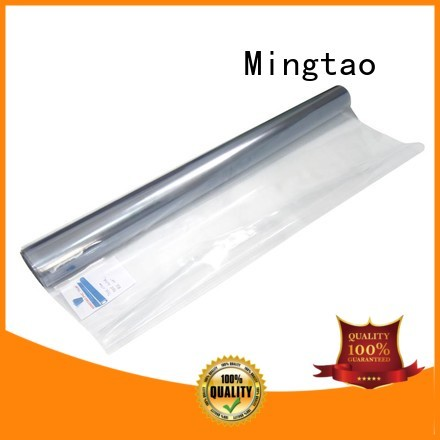Mingtao High transparency flexible plastic film supplier for packing
