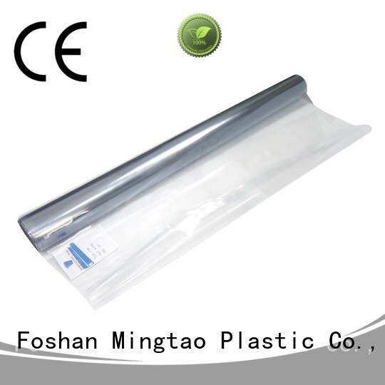 Mingtao High quality PVC pe sheet free sample for book covers