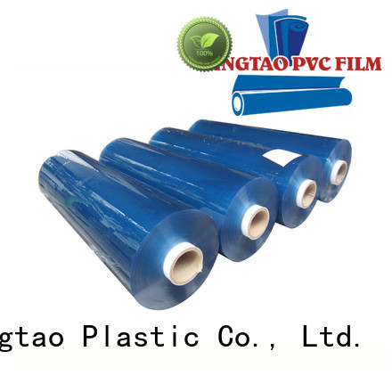 Eco-friendly hot blue flexible transparent clear pvc film anti- UV pvc film