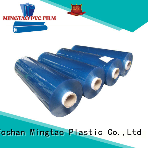 Mingtao Breathable pvc super clear film* selling for table cover