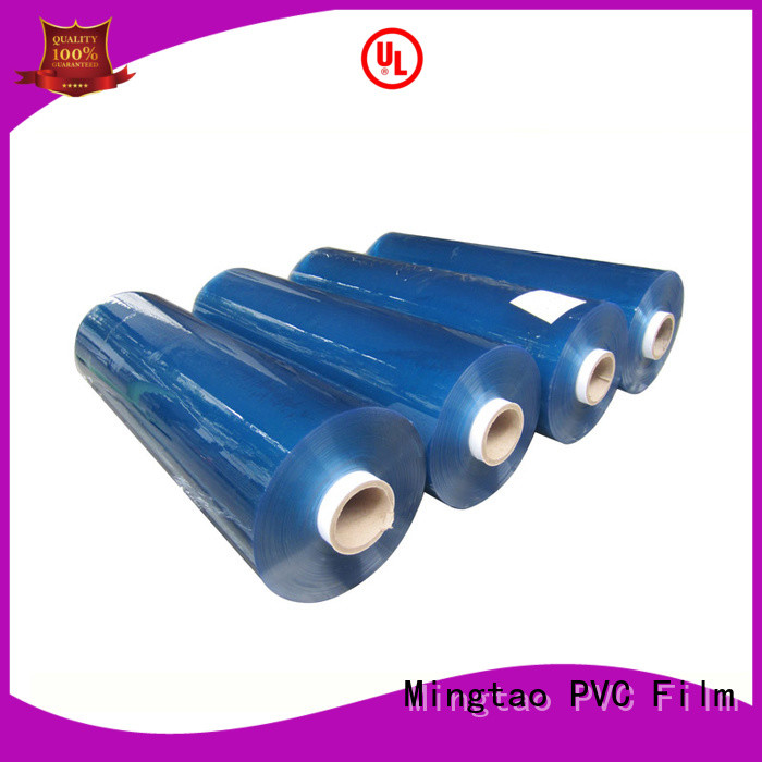 Mingtao sheet pvc film roll customization for television cove