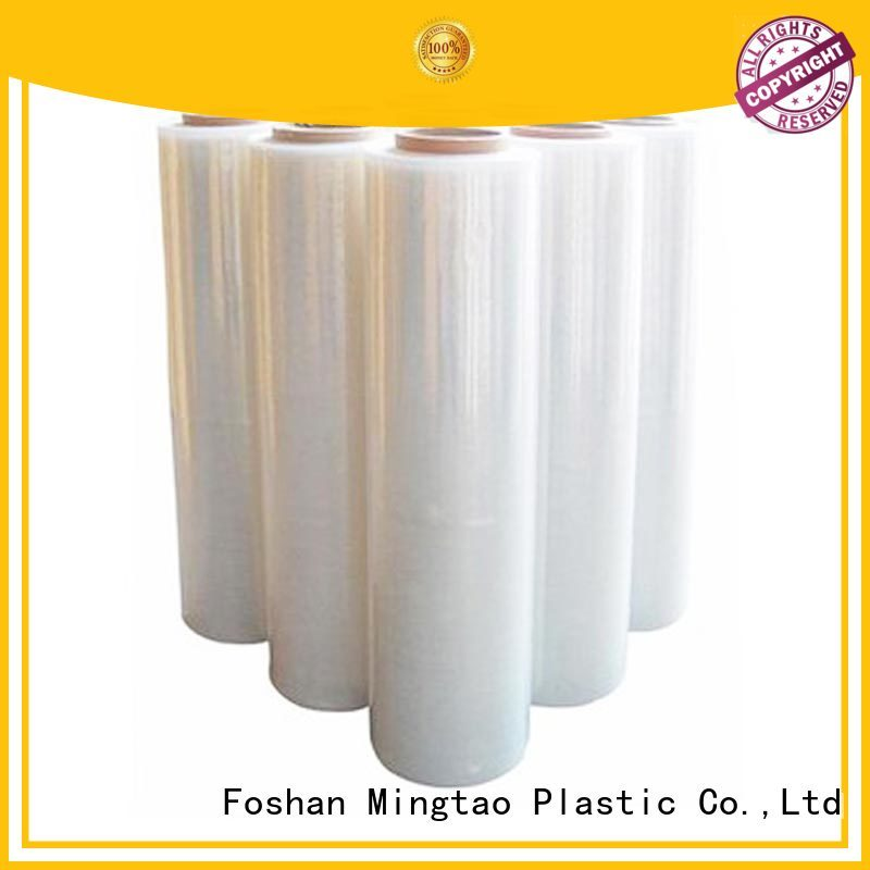 Mingtao funky ldpe stretch film bulk production for television cove