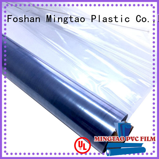Mingtao High quality PVC clear film OEM for packing