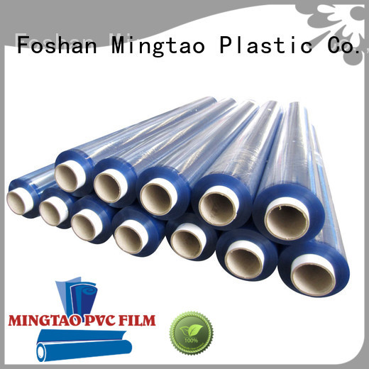 Mingtao funky super clear pvc sheet bulk production for table mat