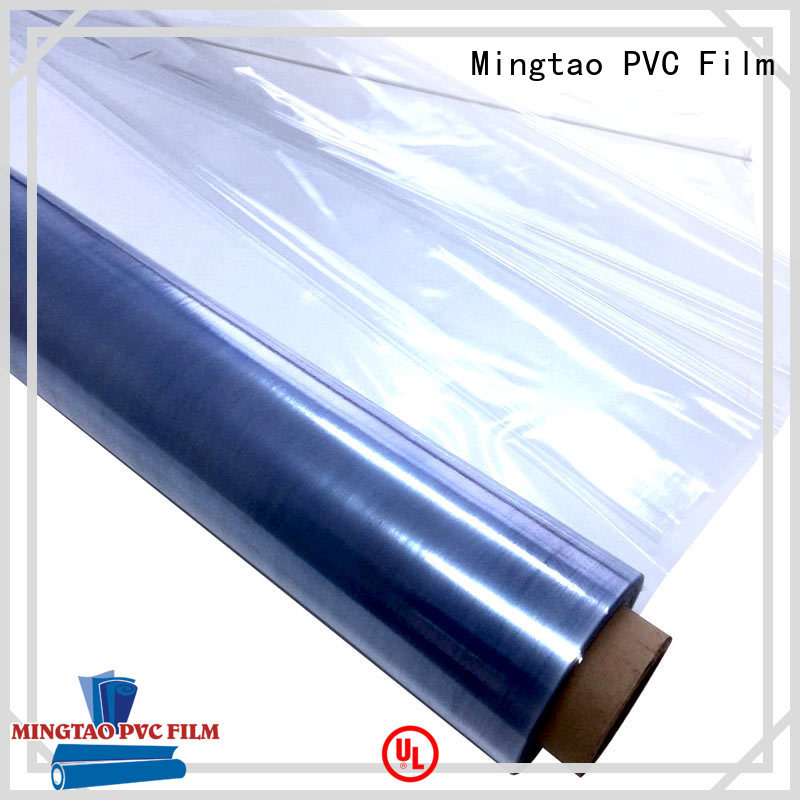 Breathable clear plastic cover smooth surface OEM for table mat
