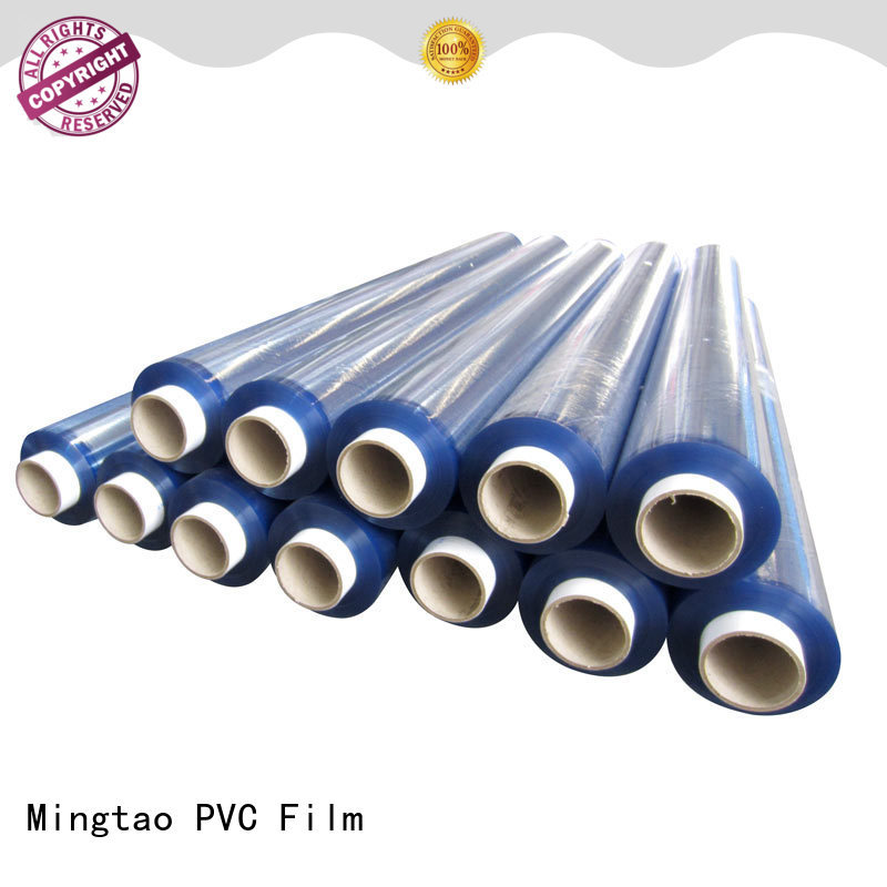 Mingtao High transparency pvc plastic sheet roll customization for book covers