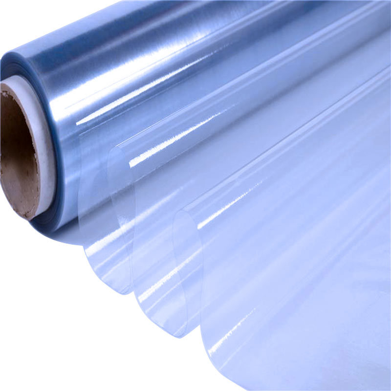 Normal clear pvc film with powder for packing anti sticky