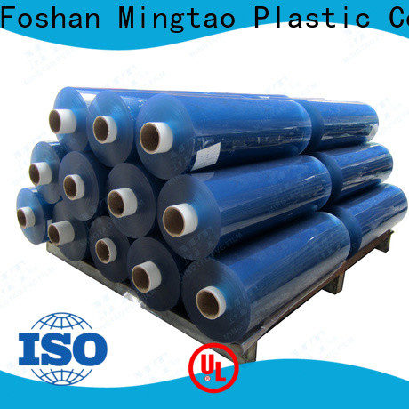 Mingtao on-sale clear pvc sheet roll bulk production for television cove