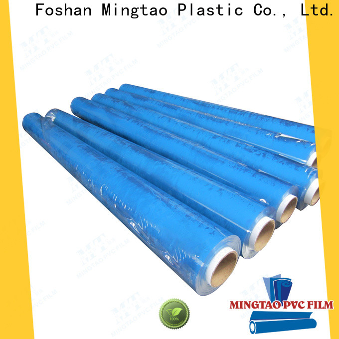 Mingtao flexible clear pvc sheet free sample for packing