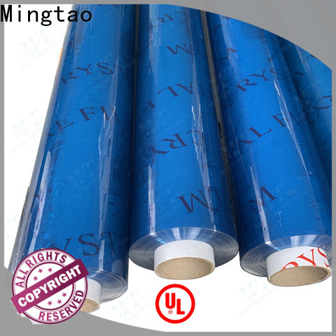 Mingtao on-sale flexible pvc sheet buy now for table mat