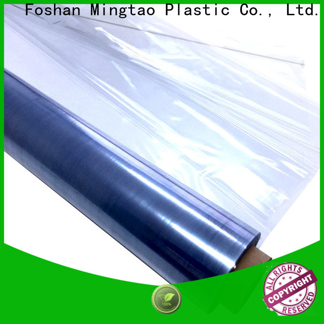 Mingtao waterproof pvc roll sheet get quote for television cove