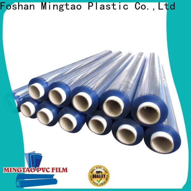 Mingtao waterproof flexible plastic film for wholesale for table mat