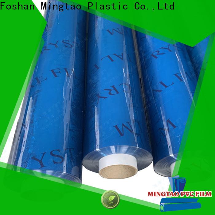Mingtao at discount embossed pvc film bulk production for table mat