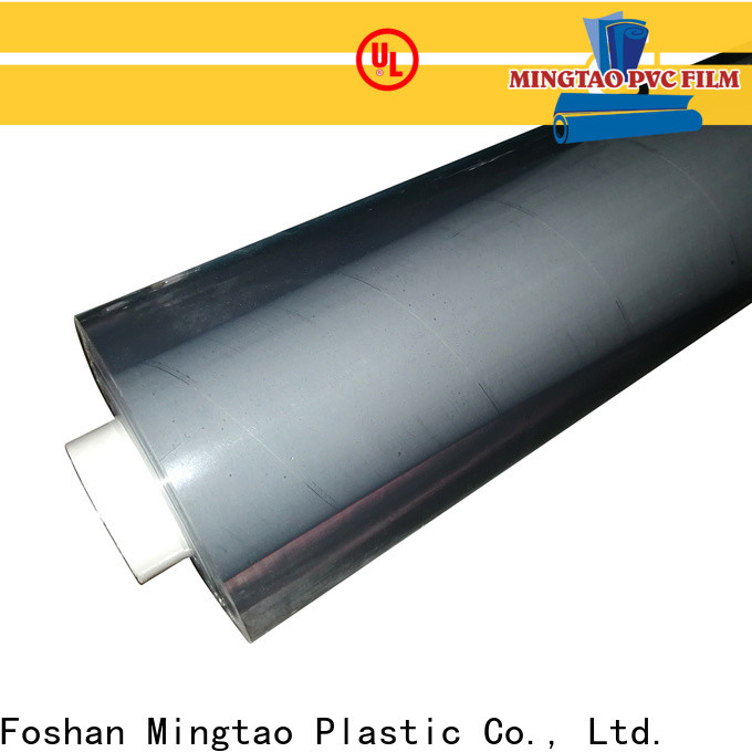 Mingtao durable pvc plastic film get quote for table cover