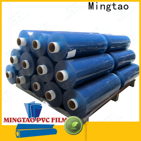 Mingtao durable pvc stretch film ODM for table mat