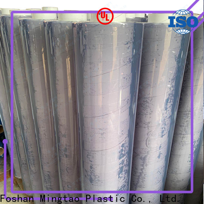 Mingtao quality embossed pvc film free sample for packing