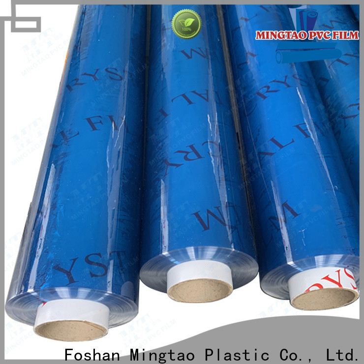 Mingtao quality pvc clear sheet manufacturer buy now for book covers
