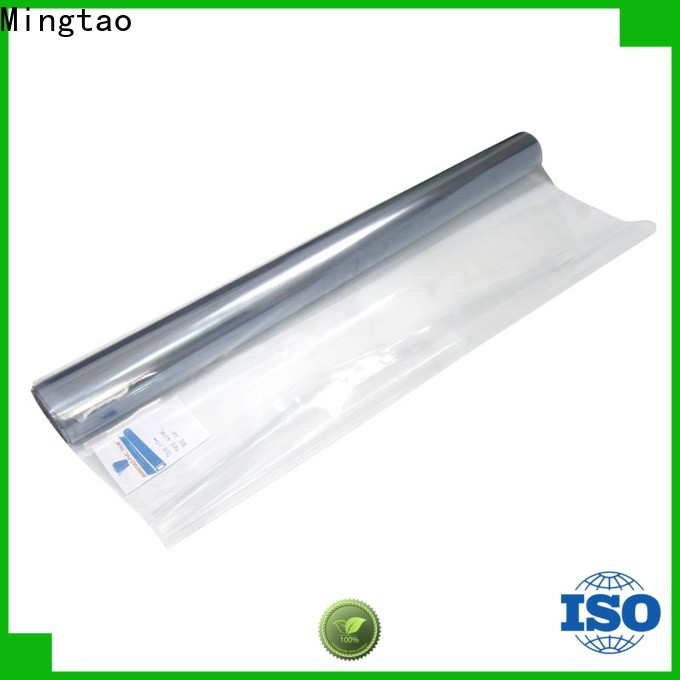 at discount pvc plastic sheet suppliers High quality PVC bulk production for packing