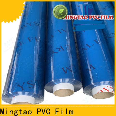 latest printed pvc film super clear for wholesale for packing