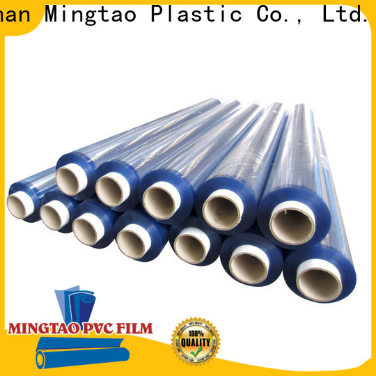 Mingtao High transparency pvc clear plastic rolls customization for table cover
